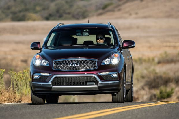 2016 Infiniti QX50 Front View In Motion