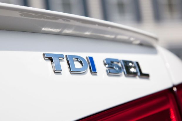 2013 Volkswagen Passat TDI Badge