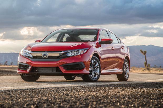 2016 Honda Civic Sedan Front Three Quarter