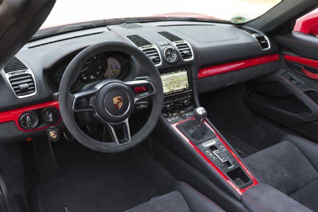 2016 Porsche Boxster Spyder Interior View
