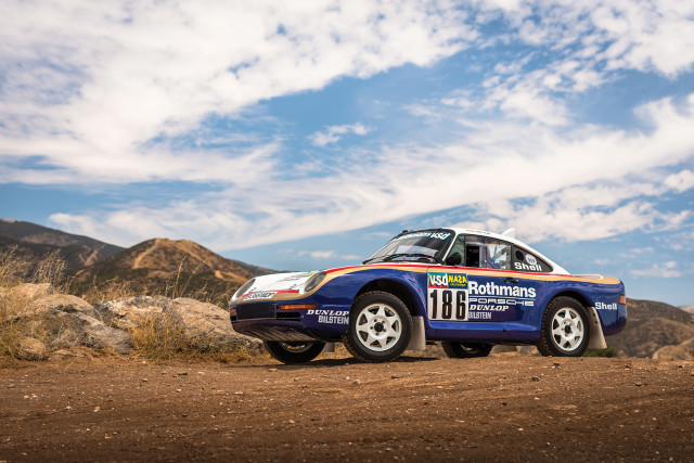 1985 Paris-Dakar Porsche 959 to be sold at auction