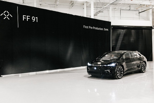 Faraday Future completes first pre-production FF91 on August 28, 2018